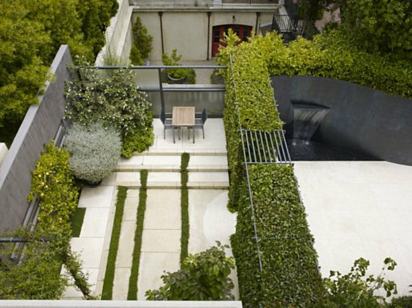 contemporary garden planting schemes