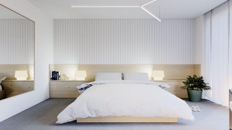 minimalist bedroom gallery