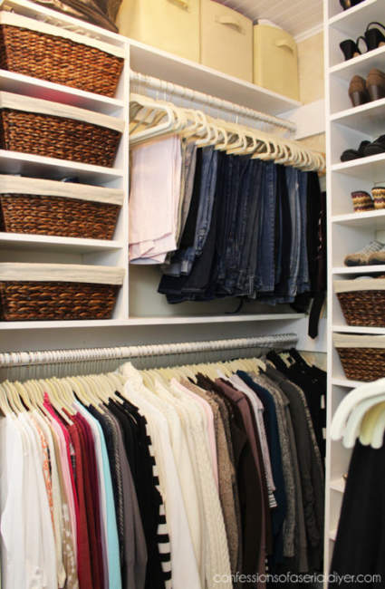 how to create a walk in closet