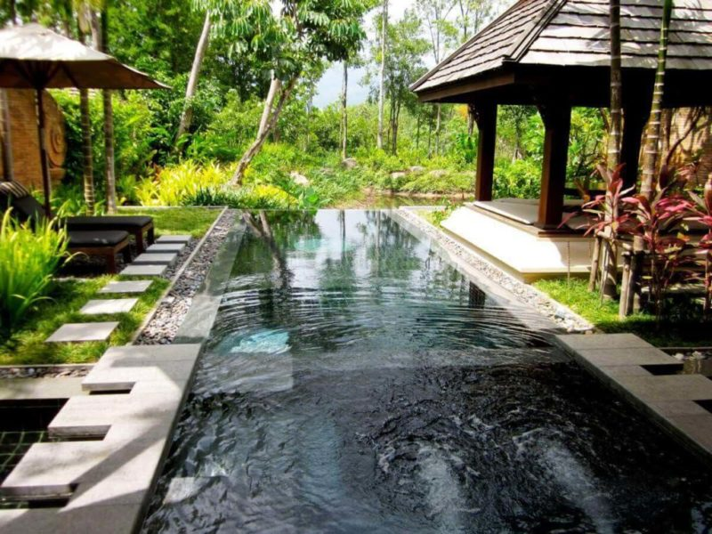 small infinity pool cost