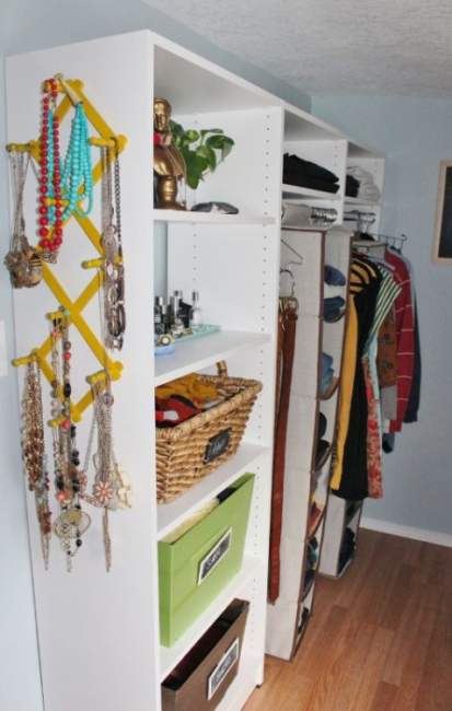 modern walk in closet design ideas