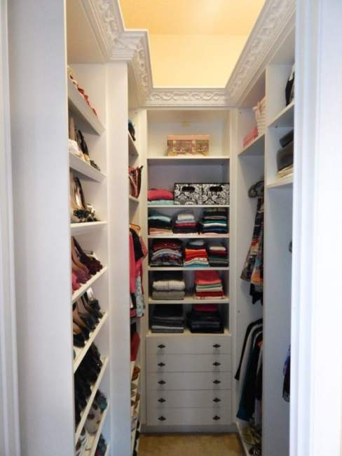 modern walk in closet design inspiration
