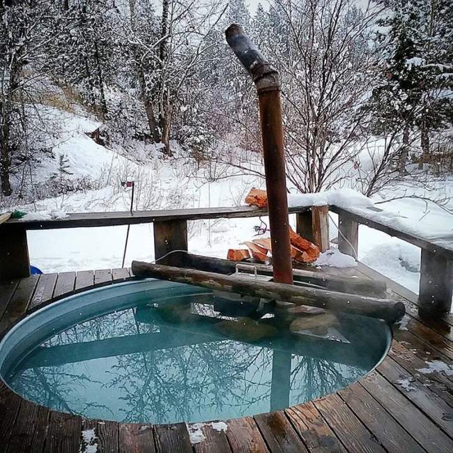 stock tank hot tub heater