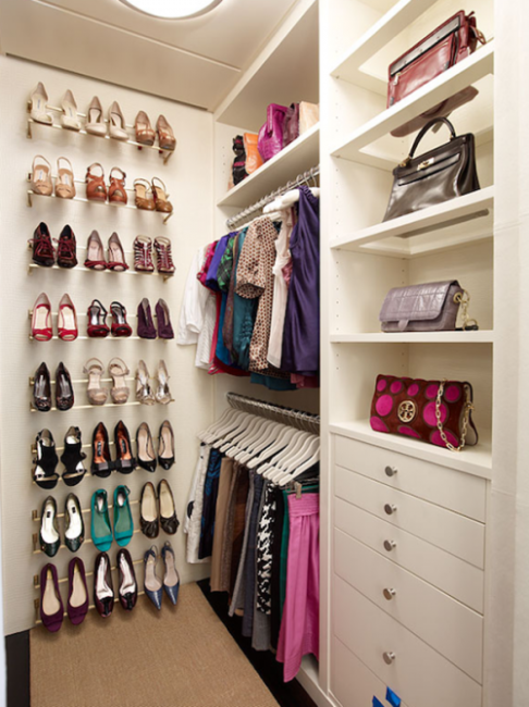 modern walk in closet design tips