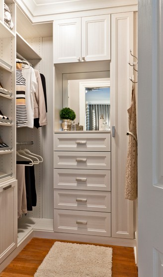 walk-in closet layout ideas