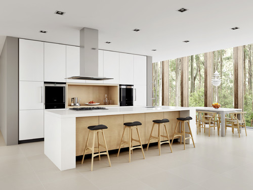 contemporary minimalist kitchen design