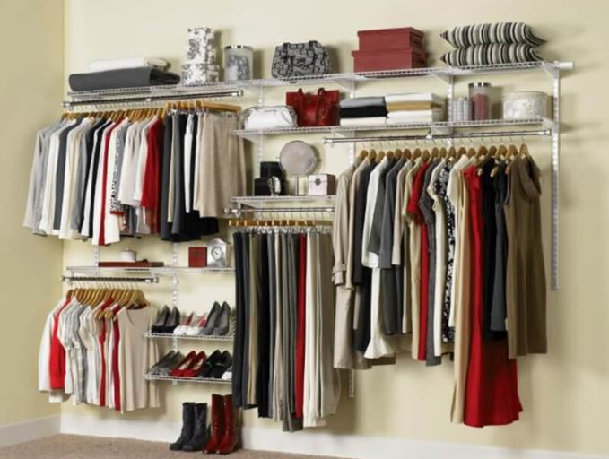 very small walk in closet ideas