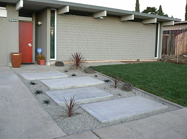 modern landscaping design ideas for backyard