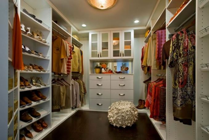 small narrow closet ideas