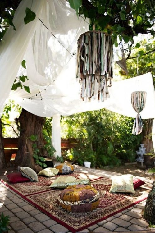 Bohemian Backyard Garden Plan