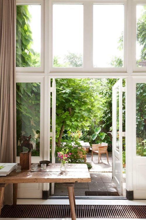 Dutch Backyard Garden Style
