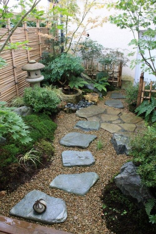 Japanese Zen Garden Backyard Design