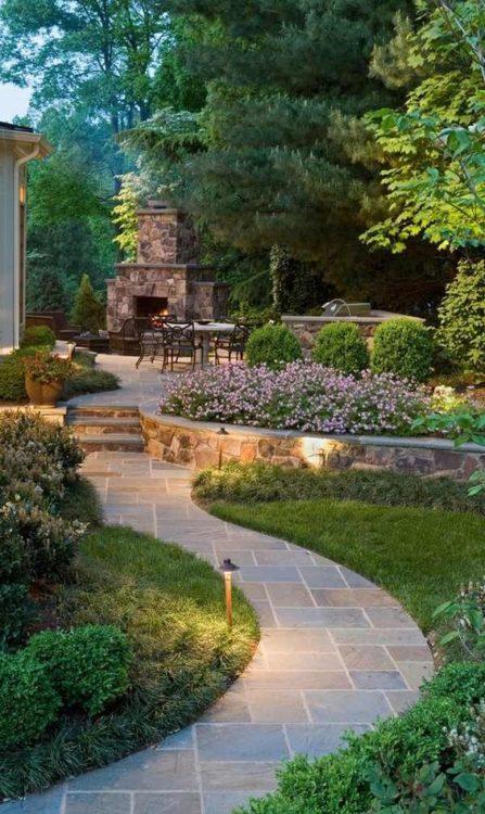 Modern Backyard Garden Landscape