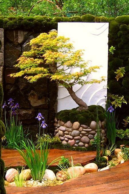 Oriental Backyard Garden Landscape