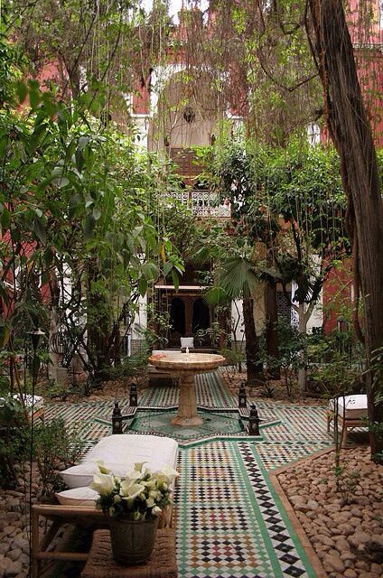 Persian Backyard Garden Landscape