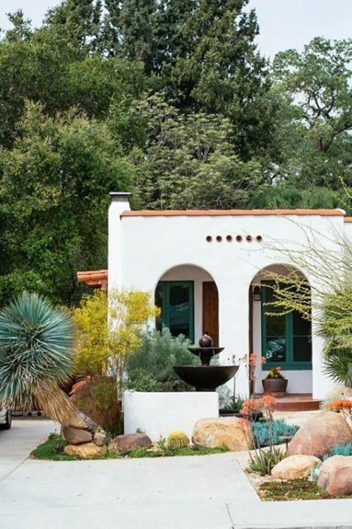 Spanish Backyard Garden Design