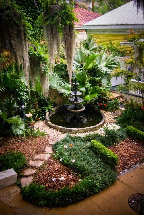 Victorian Backyard Garden Landscape