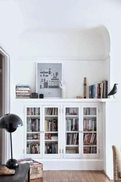 modern scandinavian bookcases