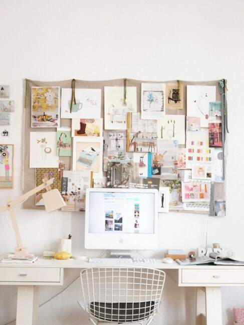 Aesthetic Home Office Design Style