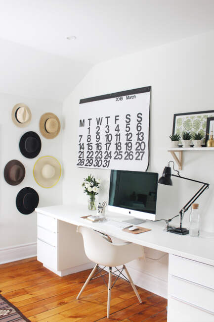 Attic Home Office Design Ideas