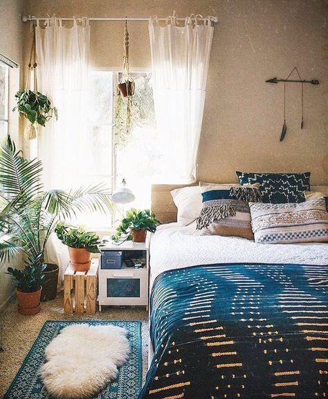 Bohemian Style Small Bedroom Ideas