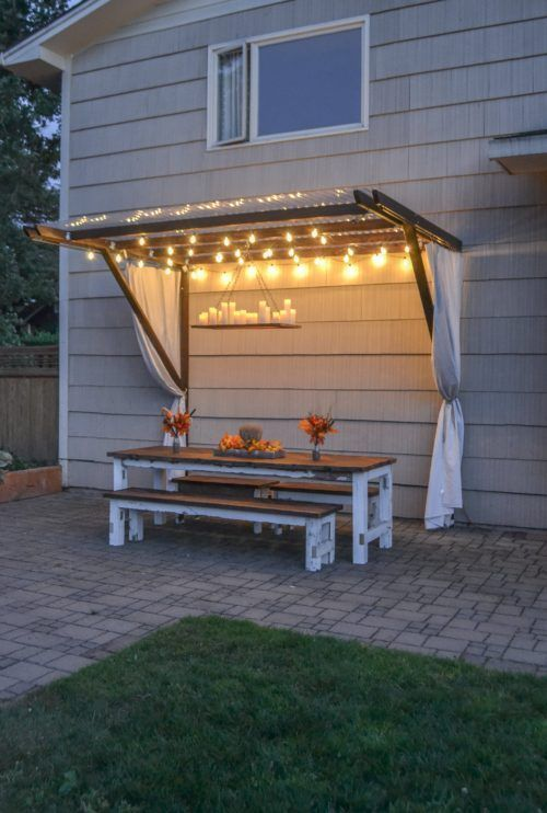 DIY Build a Super Frugal Pergola