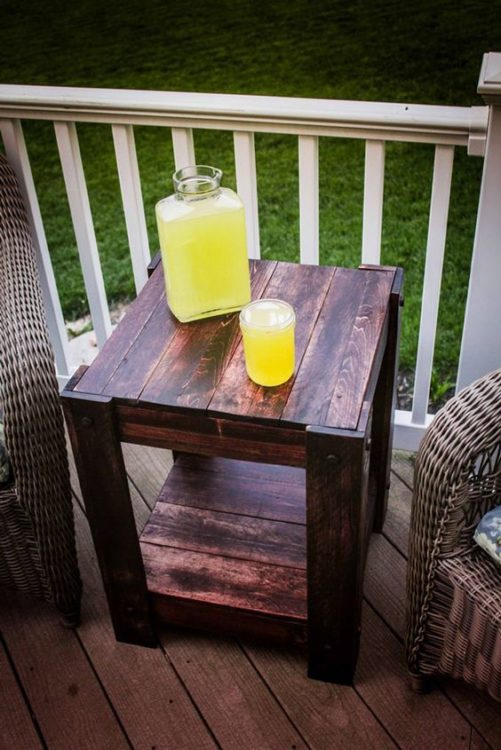 DIY Outdoor Furniture Coffe Table