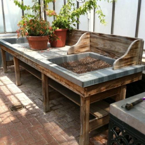 DIY Potting Table
