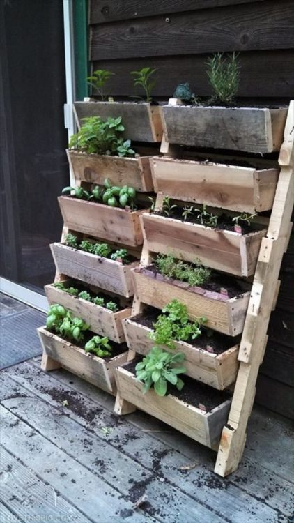 DIY Vegetables Garden Furniture