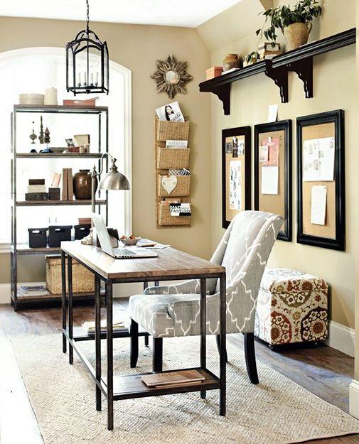 Farmhouse Home Office Style Ideas