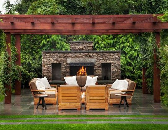 Fireplace Teak Furniture