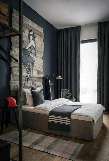 Masculine Small Bedroom Ideas