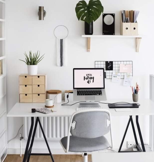 Minimalist Small Home Office Ideas
