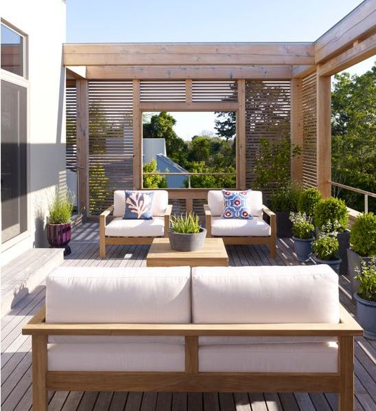 Modern Summer House Teak Furniture