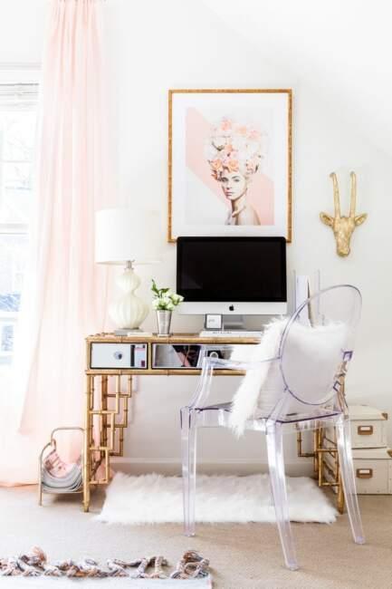 Shabby Chic Home Office Ideas