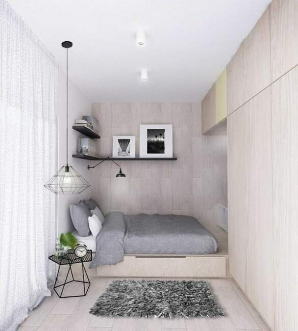 Small Bedroom Ideas With Wardrobes