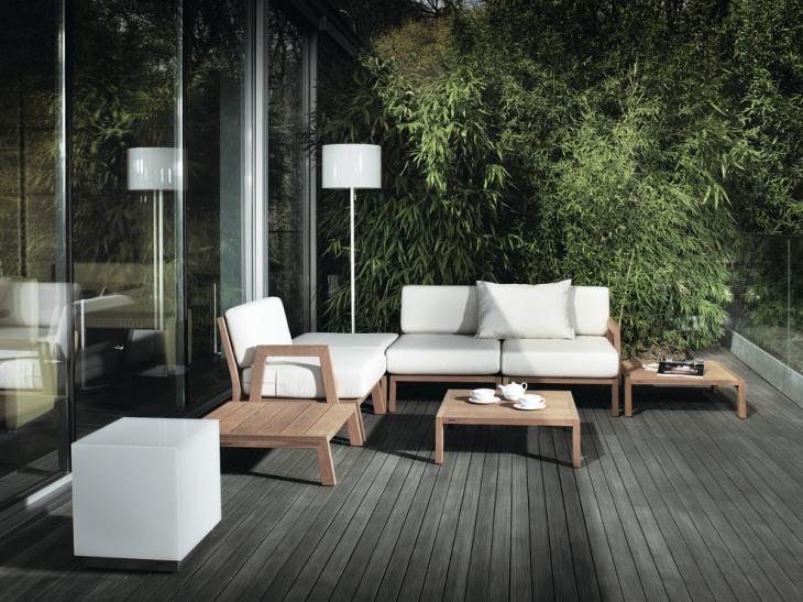Trendy Teak Outdoor Furniture