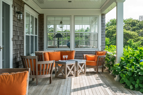 Beach Style Porch Teak Furniture