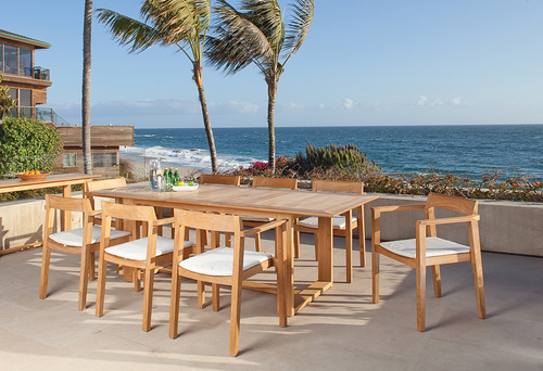 Contemporary Patio Teak Furniture
