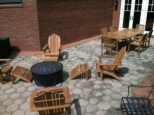Simple Traditional Patio Teak Furniture