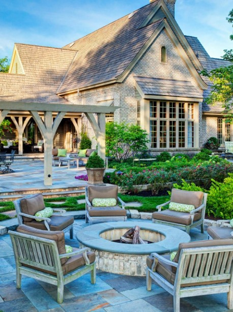 American Style Fire Pit Ideas