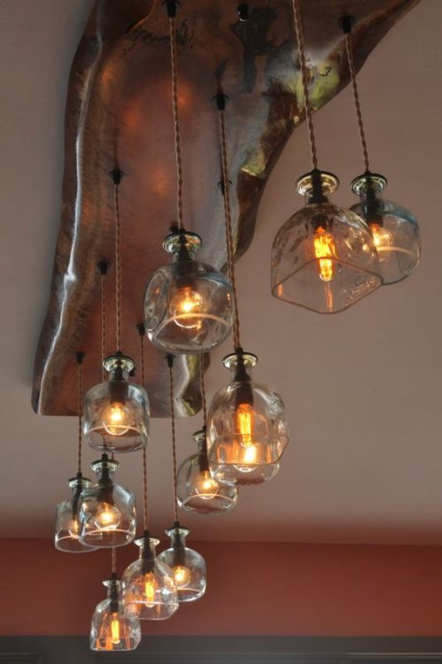 Aquamarine Rustic DIY Light Ideas