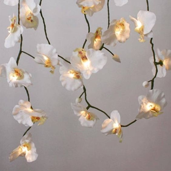 Beautiful Flower DIY String Light