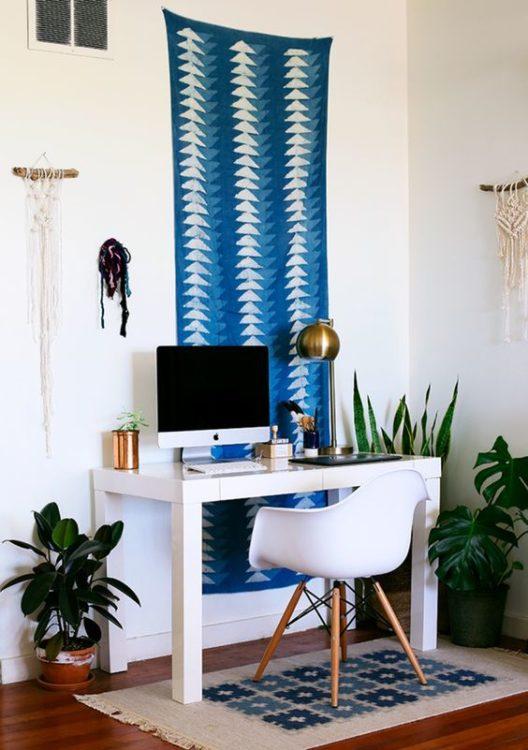 Bohemian Style Modern Desk Ideas