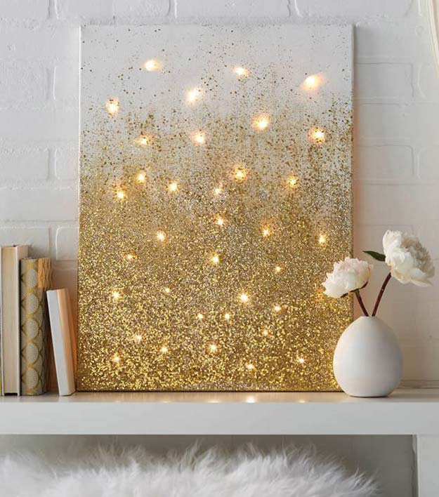 Canvas DIY String Light