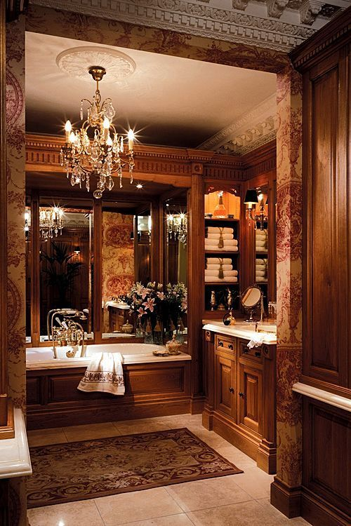 Classic Farmhouse Luxury Bathroom