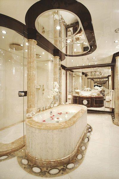 Classic Marble Luxury Bathroom