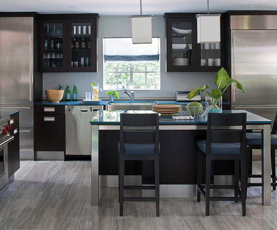 Clean Line Modern Kitchen Cabinets