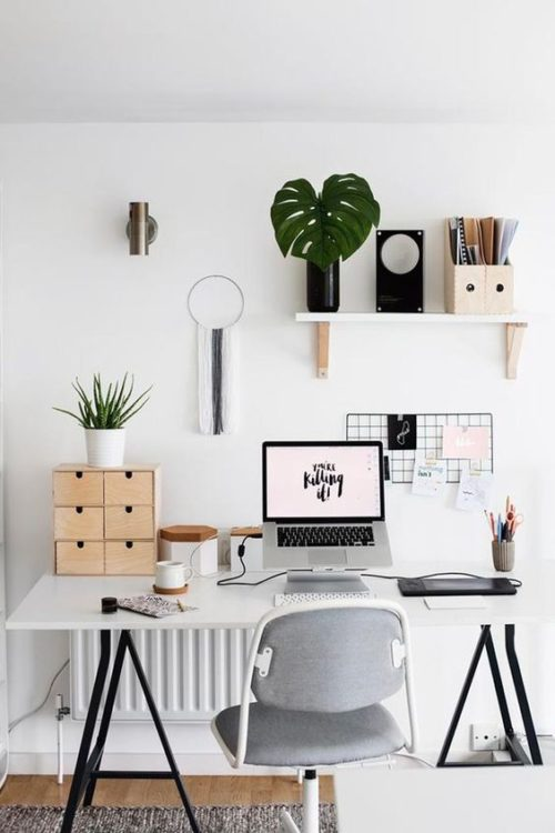 Easy Setup Modern Desk Ideas