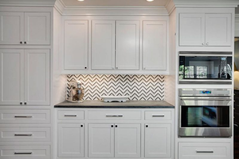 Elegant White Kitchen Cabinets